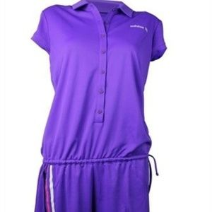 EUC Adidas Women's Performance Polo Romper